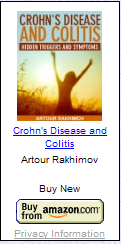 Crohn's Disease and Colitis: Hidden Triggers and Symptoms (book cover)